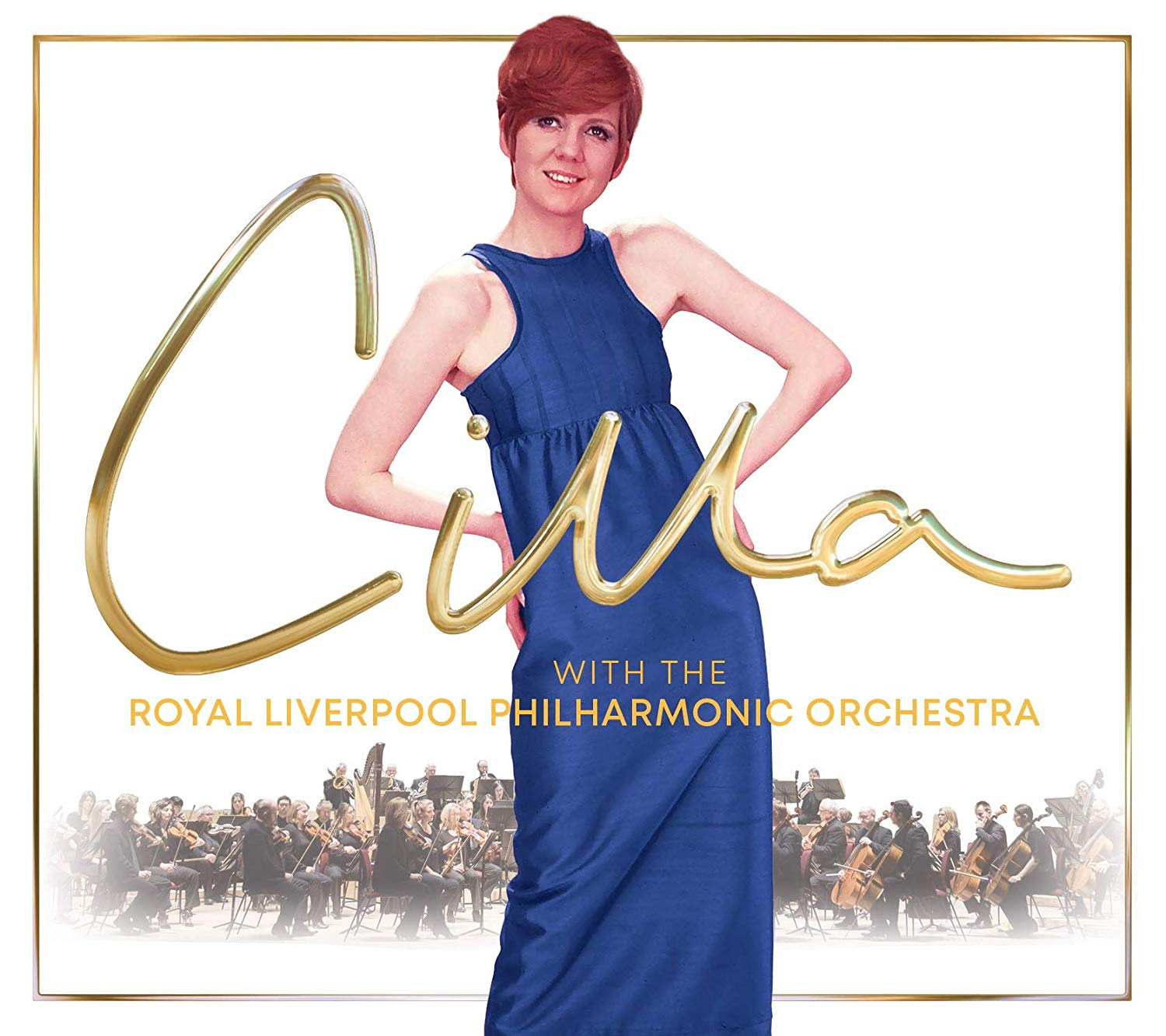 Cilla with the Royal Liverpool Philharmonic Orchestra album