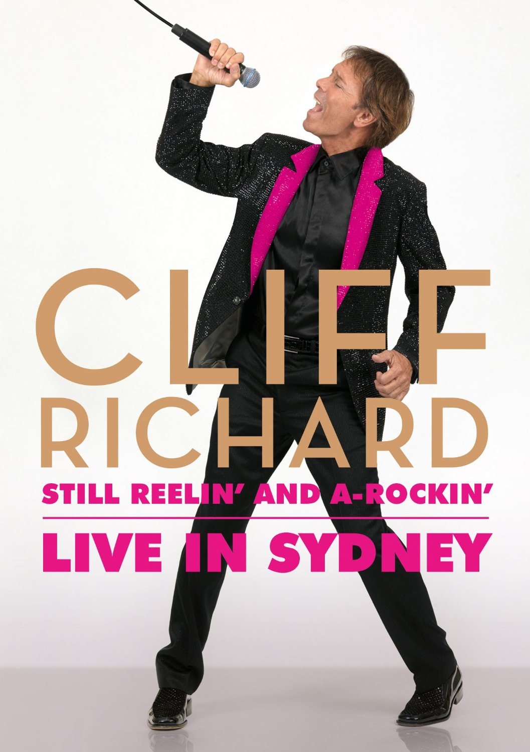 DVD & Blu-ray of rare Cliff's February 11, 2013 concert in Sydney, Australia
